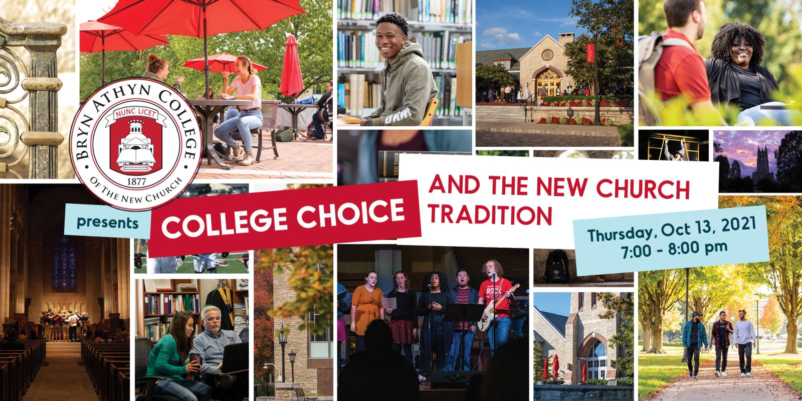 College Choice and the New Church Tradition Webinar